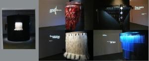 Maori Cloaks exhibit