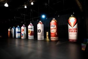 Giant Spraycans at Spectrum_n