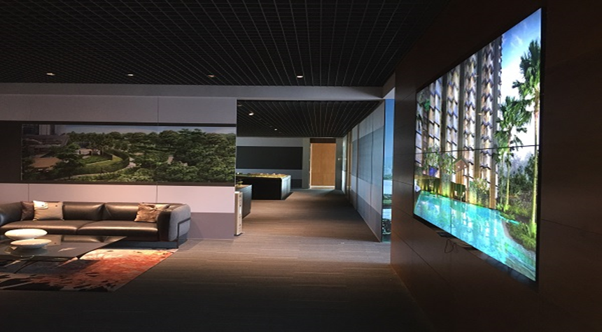 Along With The Screen We Provided Our Robust And Enterprise Grade Wallflower Digital Signage